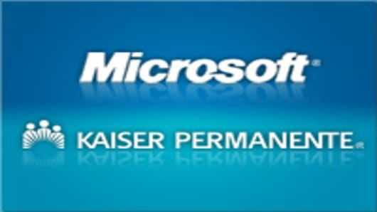 Microsoft may partner with Kaiser Permanente.