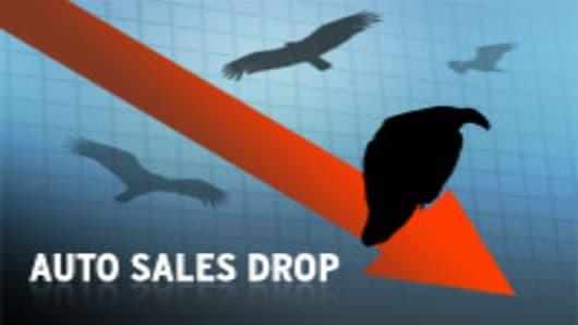 Auto Sales Drop