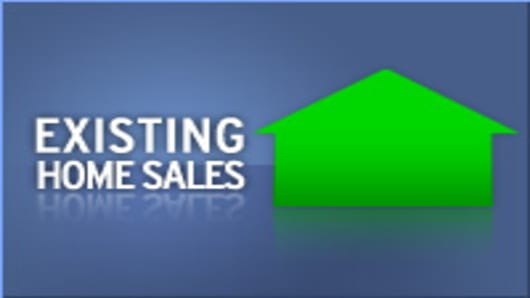 Existing home sales rising