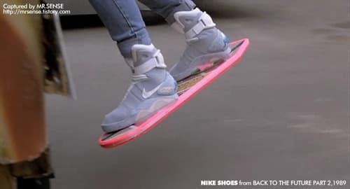 nike back to the future 2