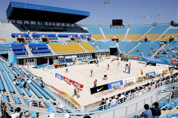 Chaoyang Park Beach Volleyball Ground Stadium