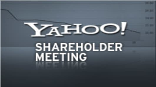Yahoo Shareholder Meeting