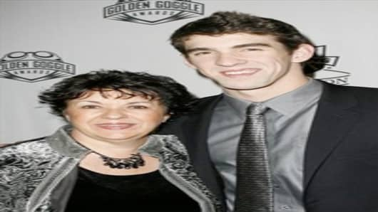 Deborah & Michael Phelps