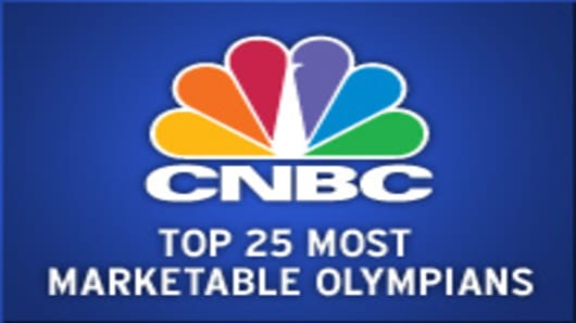 Top 25 Most Marketable Olympians