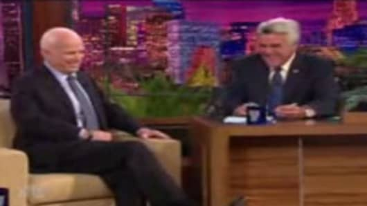 John Mccain on The Jay Leno Show