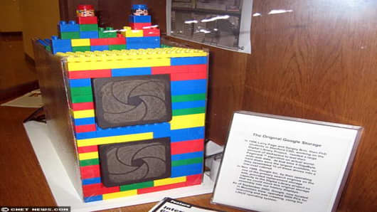 Larry built the first Google server at Stanford out of Legos.