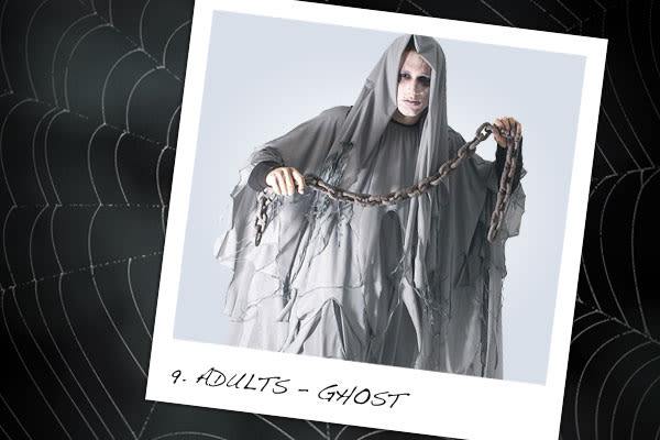 9. (Adult) Ghost