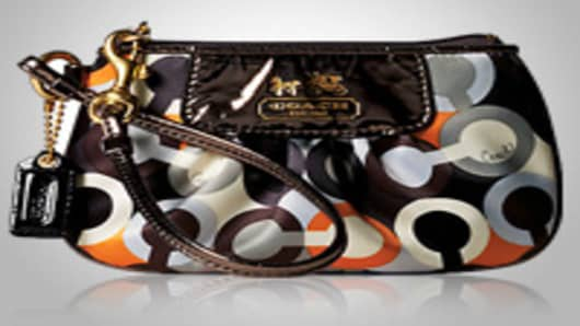 Coach | Graphic OP Art Wristlet