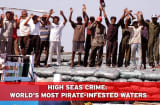 Maritime piracy is back in the headlines with the hijacking of the Saudi-flagged Sirius Star, along with its $100 million oil cargo and 25-man crew. Piracy remains a serious threat to life and commerce, with 199 attacks tracked by the International Maritime Bureau's Piracy Reporting Centre through the first three quarters of this year. Many more attacks, most of which take place near shore, go unreported. What follows is a list of the 10 worst pirate-infested places on earth, along with a sampli