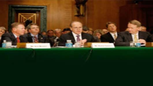 Alan Mullaly, Robert Nardelli, and Rick Wagoner