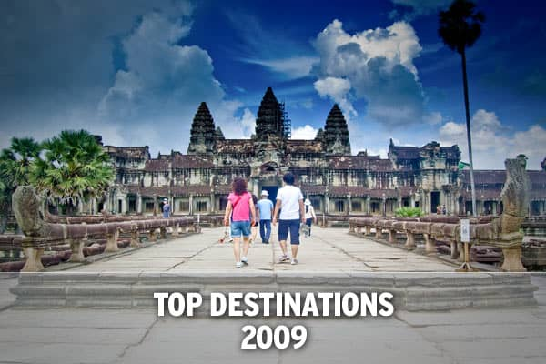 "If the daily barrage of bleak economic outlooks cause you to entertain flights of fancy, consider these budget-friendly vacations here and abroad. Frommers recently released their top destinations for 2009 focusing on international destinations that are affordable to travel to and predict what are the next up and coming ""hot spots."""