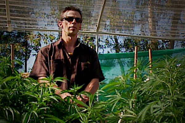 """Ukiah Morrison is a Mendocino pot grower. In most places that would make him an outlaw but not in this neck of the woods. Morrison says """"I don't think there's anything more important in this economy. To take this out would be a major blow, economically speaking."""""""