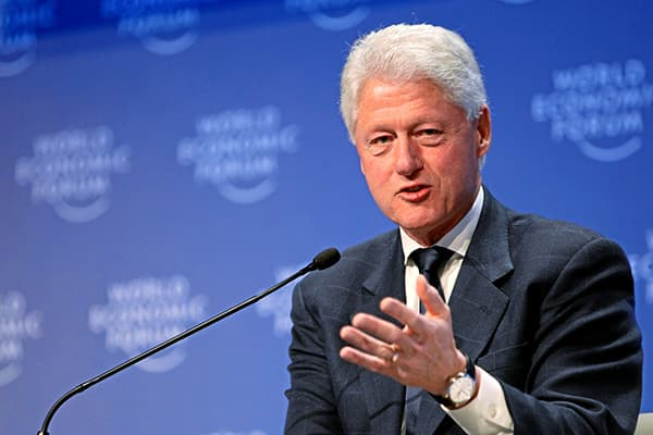 Founder, William Jefferson Clinton Foundation; President of the United States (1993-2001).