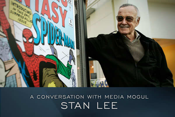 "Stan ""The Man"" Lee, co-creator of some of comic book's most famous characters has become a superhero at the box office. The films based on Lee's creations have generated nearly 3 billion dollars in domestic gross.Stan Lee talks to Michael Eisner on the February 17th episode of .* All statistics from"