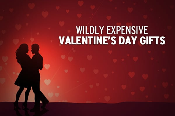 We're in a recession, but that doesn't mean we still can't dream about luxury. Financial advisor Jim Trippon of  puts together a list of some of the most expensive Valentine's Day gifts every year. Check out the top ten of this year's fantasy gifts, or , if you're lucky enough, buy some of them. »