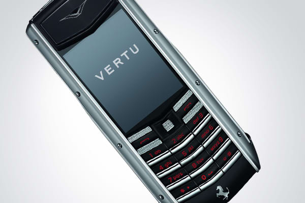 : $9,650 Along with the car company's horse logo, this cell phone from Vertu also features the hand-stitched leather found in the interior of all Ferrari's. »