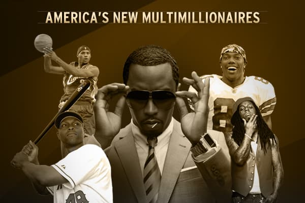 There is a growing class of Black celebrity entrepreneurs who came from working class to the wealthy class at a young age.  Now, many of these African-Americans are building wealth for future generations.Here's a look at LeBron James, Torii Hunter, Terrell Owens, Cash Money, Kirk Franklin and Bob Johnson's achievements and their contributions to society.Related content...