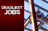Your job may seem boring, but, hey, at least it isn't dangerous. As a whole, work fatalities dropped to 5,488 in 2007 from 5,840 in the previous year, according to the Bureau of Labor Statistics. Take a look at the ten deadliest jobs in America, ranked by fatality rate (the number of deaths per 100,000 workers).