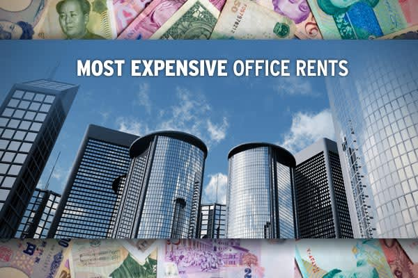 For the first time in nine years, London does not have the most expensive office rents and that's largely because of the financial crisis. In the past, rapidly expanding financial institutions and hedge funds drove commercial property rental rates ever higher. Now a sharp drop off in demand is taking a toll on prices. In some cities, like London, office rents are the cheapest in years. On a global basis rents managed to rise by just 3 percent in 2008, significantly lower than the 14 percent gain