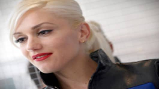 Gwen Stephani of No Doubt.