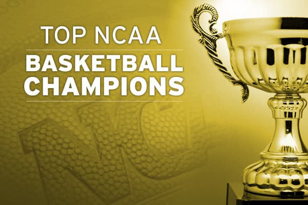 Teams that win the NCAA championship are known to produce their share of NBA stars, but many of the same schools have also been the launching pad of business leaders. Here's a look at the 13 schools that have won the most championships and some of their stars of the business and basketball worlds. Click on to check them out.