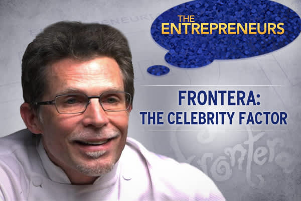 "The ""Celebrity Factor"" … in today's competitive business world can generate the kind of publicity that can put a young company on the map.  Rick Bayless, a Chicago Chef with acclaimed restaurants, a top-rated PBS cooking show, and best-selling cookbooks .  Bayless joined forces with marketing executive Manuel Valdeand together they parlay Bayless' growing celebrity into a $30 million food empire."