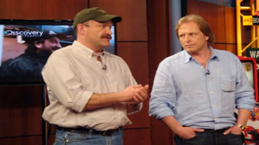 Deadliest Catch Capts. Keith Colburn and Sig Hansen visit Cramer on the Mad Money set.