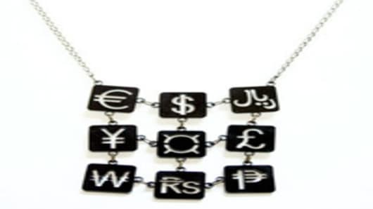 Currency Jewelry