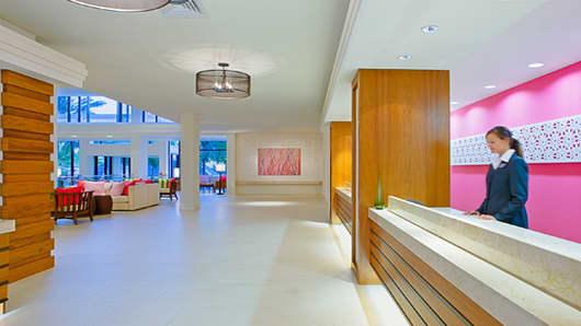 Sarasota Hyatt Lobby