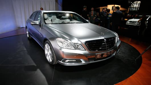2010 Mercedes-Benz E250 BlueTEC