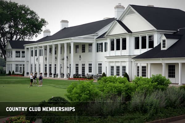 Even before the recession really hit, many country clubs were suffering. This is causing many high-end clubs to do something in order to make sure they don't suffer further attrition.The clubs associated with the highest end courses have been quiet not to let details of any discounts leak out, but Oakland Hills, which hosted last year's PGA championship, reportedly has dropped its initiation fee from $110,000 to $60,000Other examples include:The Golf Club of Cape Cod – If you became a member las