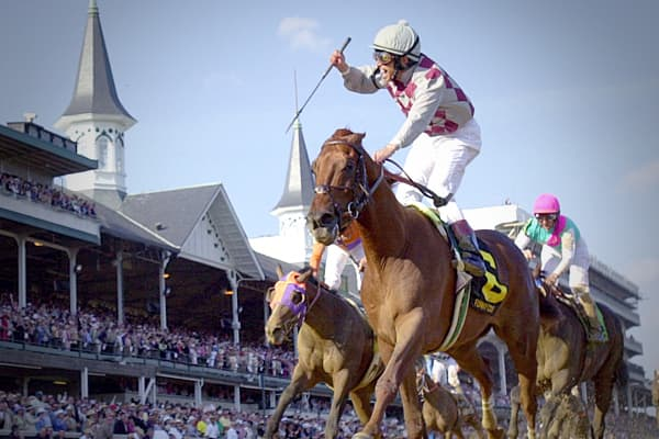 Horse racing is big business. Every year about $13 billion is bet on the horses... much of it generated from online betting services. Online betting helped Churchill Downs transform itself into a powerhouse in the world of racing.
