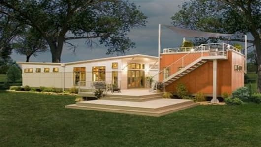 Clayton Homes' new 'i-house' shown in a photo released by the company last fall
