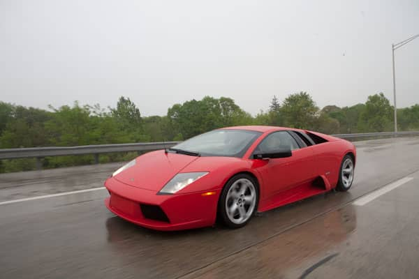 "With prices starting at $595, the tour allows clients to rotate between the company's , , ,  (pictured),  and Gallardo Spyder, alternating every 20-30 minutes in each car. On any given tour, the company has 6-10 clients, with the past four tours having completely sold out.  The popular ""Dream Car Tour"" takes drivers on a six hour, 150 mile cruise along public roads, where drivers are able to select from and alternate between six vehicles."