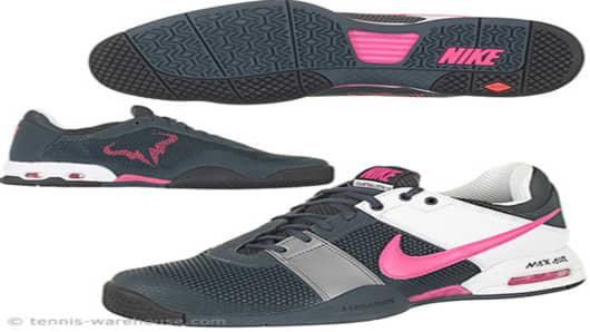Nike Air CourtBallistec 1.3 Men Shoe Gry/Pink