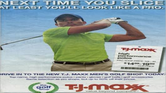 TJ Maxx Advertisement