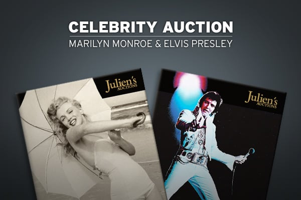 Celebrity auctions have made big news so far in 2009, most notably  which was ultimately canceled. , which has orchestrated numerous celebrity auctions - for names like Cher, U2, Bob Hope, Elton John and Ozzy Osbourne - is planning a particularly interesting event in this year's annual summer sale.The 2009 auction, which will be held June 26-27 at Planet Hollywood Resort in Las Vegas, features over 700 celebrity items, including approximately 150 items from the life of Marilyn Monroe and unique