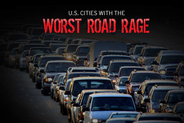 Driver's Seat Road Rage Survey recently released by AutoVantage