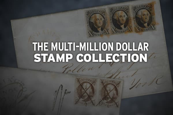 From  stamps to coins to baseball cards, people collect rare or unique items, at least partly in the hope they will appreciate in value and perhaps one day fetch a handsome sum. One stunning example is the postage stamp collection of Robert H. Cunliffe, which will be auctioned in New York on June 18 -19 by . The collection features the rarest kind of postage stamps - ones with an inverted center, meaning the central image was mistakenly printed upside down. In a typical auction, these would be t