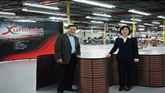 Xunlight co-founders Dr. Xunming Deng and Dr. Liwei Xu
