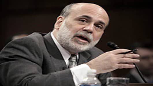 US Federal Reserve Board Chairman Ben S. Bernanke