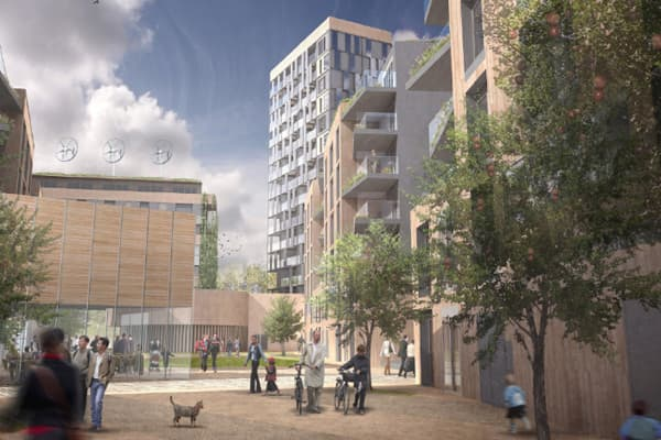 East London, United Kingdom: N/A: N/A : N/A: N/ABeing built over a former brownfield, the site will have over 1,000 new homes and be a zero carbon development.