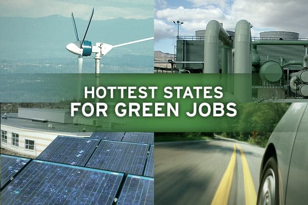 Over the last decade, green jobs in the US have experienced red-hot growth, according to a new study by Pew Charitable Trusts. The Clean Energy Economy report found green jobs grew at a pace nearly two-and-a-half times greater than overall jobs between 1998 and 2007, though they remain a tiny part of overall jobs. Pew classifies green jobs as those involved in expanding clean energy production, increasing energy efficiency, reducing greenhouse gas emissions, waste and pollution, and conserving n