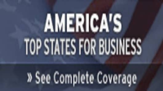 America's Top States For Business -- See Complete Coverage