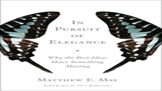 """Pursuit of Elegance: Why the Best Ideas Have Something Missing"" book"