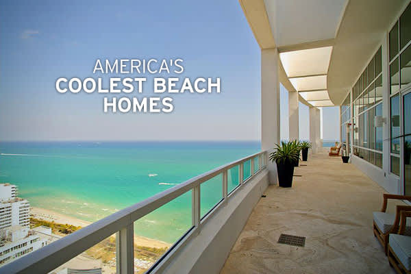 With summer in full swing, Americans head to the coast to take in the sun.  How better to experience the sun and sand than at your own beach home?Recently,  compiled a list of America's Ten Coolest Beach Homes, all of which have more amenities than most primary homes. All were listed for sale in 2009 and even with a weak real estate market multi-million dollar price tags, some of the houses have already attracted buyers.So, what are the coolest beach homes in America? Click ahead to get the view