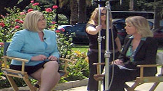 Jane Wells and Sue Herera