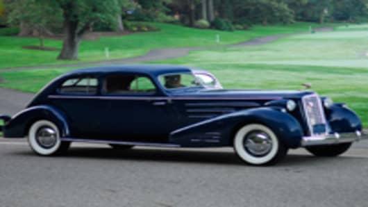 1936 Cadillac Aero
