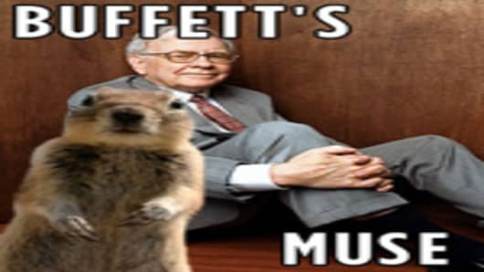 Crasher Squirrel with Warren Buffett