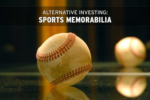 When it comes to investing in sports memorabilia, buying pieces attached to a big name is usually the way to go. Take a look at some sports collectibles from icons ranging from Joe DiMaggio to Muhammad Ali to Michael Jordan.
